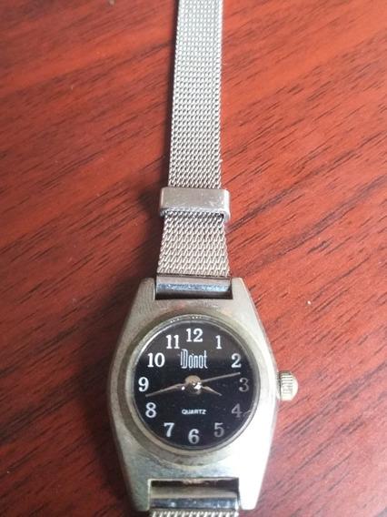 Relógio Quartz Feminino Dumont Pulseira De Malha De Aço