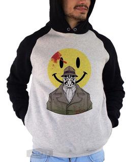 Moletom Casaco Blusa Watchmen Comedian Rorschach Ozymandias