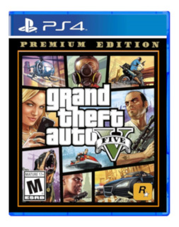 Juego Para Ps4 Gta 5 Premium Edition