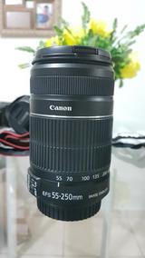 Canon Ef-s 55-250mm F/4-5.6 Semi-nova