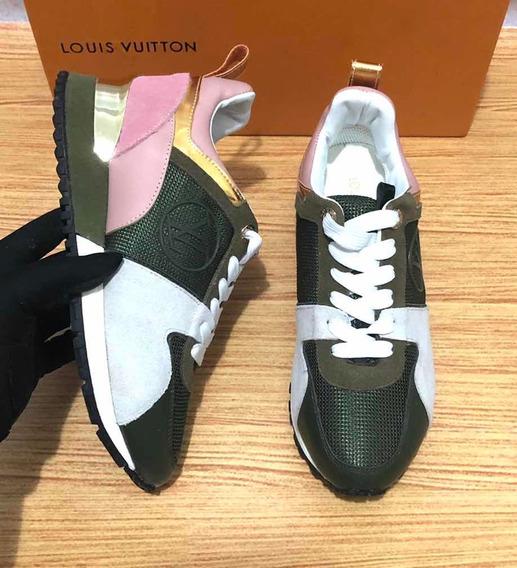 Tênis Louis Vuitton Run Away Pronta Entrega