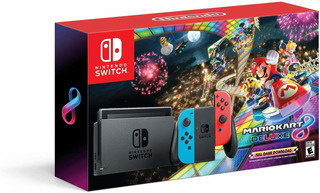 Nintendo Switch + Mario Kart 8 + Garantia Financiamiento