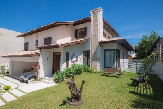 Casa Com 4 Dormitórios À Venda, 427 M² Por R$ 1.950.000,00 - Alphaville Graciosa - Pinhais/pr - Ca0101