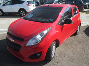 Chevrolet Spark Lt Manual 2016 Rojo