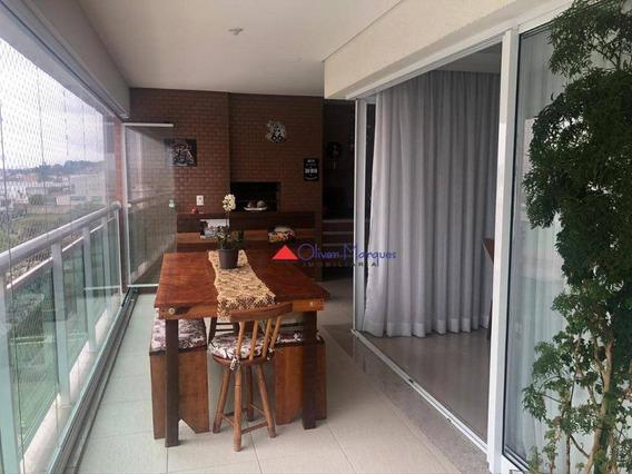 Apartamento Com 3 Dormitórios À Venda, 167 M² Por R$ 1.480.000,00 - Adalgisa - Osasco/sp - Ap7457
