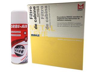 Filtro Ar Condicionado Gol G5 2008 A 2012 + Higienizador