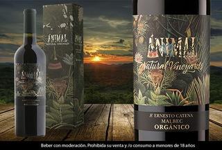 Caja X6 Vino Animal Malbec Organico 750ml Ernesto Catena