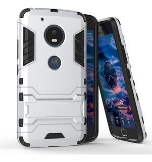 Funda Case Uso Rudo + Cristal Moto Z C E4 G4 G5 Plus Play
