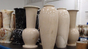 Vasos Pedra Ônix Paquistanesa 20x60cm Casa Decoração
