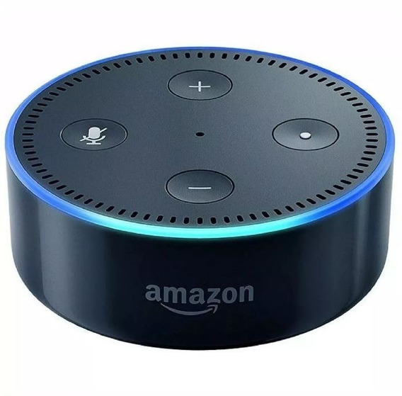 Amazon Echo Dot 2ª Geração Smart Speaker Com Alexa Sem Caixa