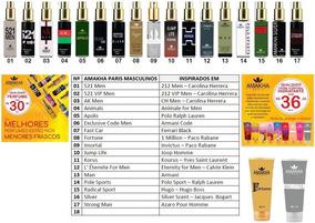 Kit 3 Perfumes De Bolso Amakha Paris