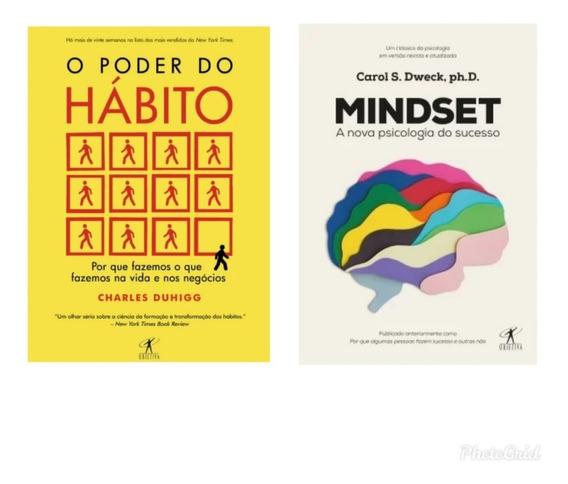 Kit De Livros O Poder Do Hábito+ Mindset