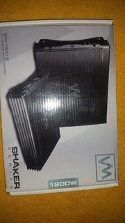 Amplificador Planta Vm Audio 1800 Watts 2/1 Canal