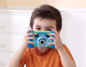 Camera Digital Azul Para Criancas Vtech Kidizoom