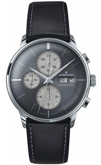 Reloj Junghans Meister Chronoscope Original Jh027452501