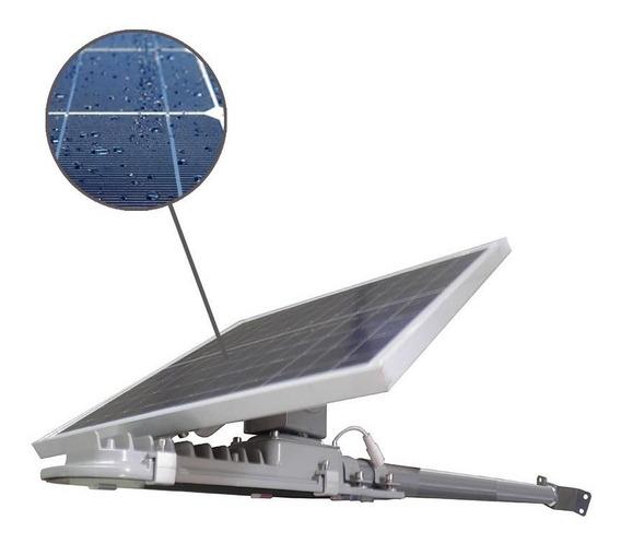 Refletor Holofote Placa Solar Bateria Led Automatico 30w