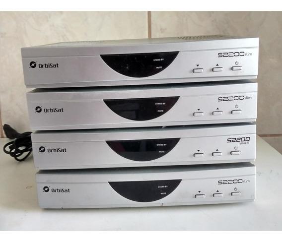 4 Receptor Banda C Orbisat Modelo S2200 (lote)