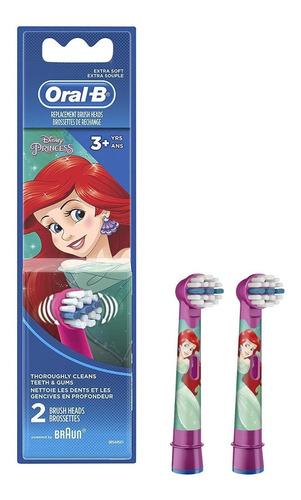 Repuesto Cabezal Cepillo Eléctrico Oral-b Kids Princesas