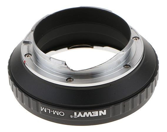 Adaptador Para Olimpo Om Lente Para Leica M Câmera Anel M8 M