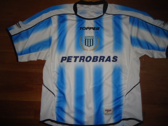 Camiseta Racing Club Topper Petrobras 2007 Titular Original
