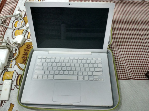 Macbook Branco E Acessórios - Autografado Steve Wozniak