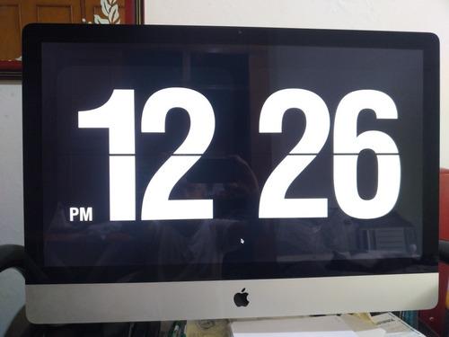 iMac Apple 27 2011 A1312 I7 3.4ghz + 8gb Ram + 1tb - Vga 2mb