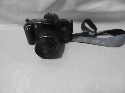 Imagem 1 de 8 de Camera Canon Eos-500 C/ Lente 35-80mm Impecavel - U.dono -ok