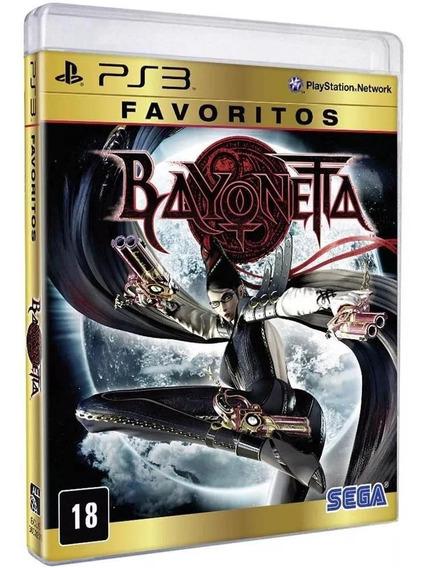 Bayonetta Favoritos Ps3 Mídia Física Lacrado