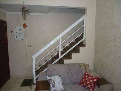 Casa Em Santos, No Bairro Estuario - 3 Dormitórios
