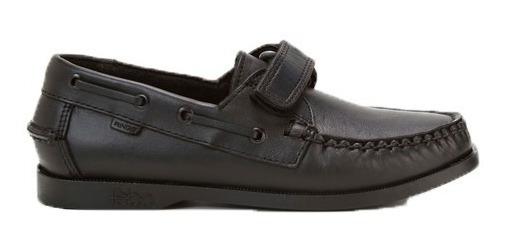 Zapatos Ringo School 13 Nautico Escolar Niños Abrojo Cuero