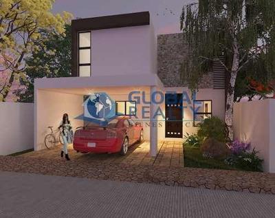 Casa En Venta, En Temozón Norte Cerca De Galerías. Cv-5619