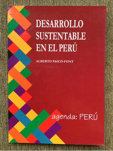 Imagen 1 de 4 de Libro Ecología: Desarrollo Sustentable En El Perú. Ocasión