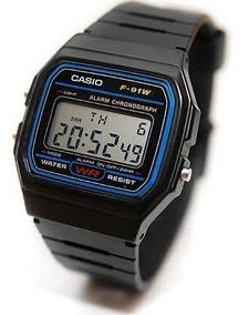 Reloj Casio F91w Caballero Vintage Clasico Nuevo 100%orígnal