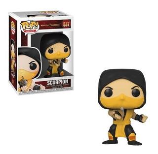 Funko Pop Scorpion 537 Mortal Kombat 100% Original