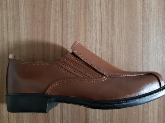 Sapato Social Masculino Em Couro Legítimo Trabalho E Lazer