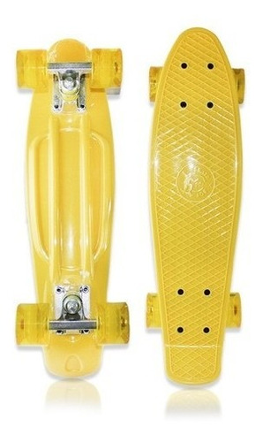 Skate Mini Cruiser Penny Fenix Infantil Criança Colorido