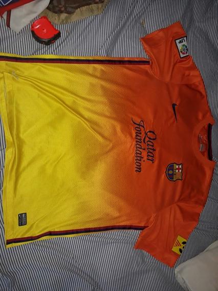 Camiseta Alternativa Ca Barcelona Nike 2012 Original Xl