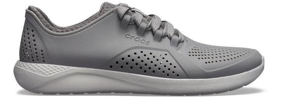Crocs Literide Pacer Cinza