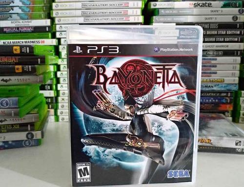 Bayonetta Ps3 Midia Cd Físico Sem Riscos Para Playstation 3