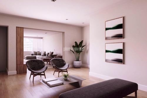Apartamento Para Comprar Com 3 Quartos E 2 Vagas Em Higienópolis - Pj53720