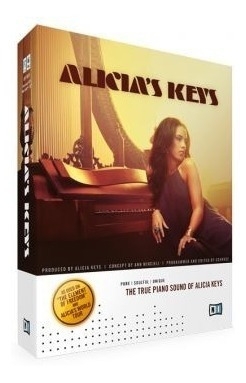Alicia Keys - Piano Kontakt - Vst