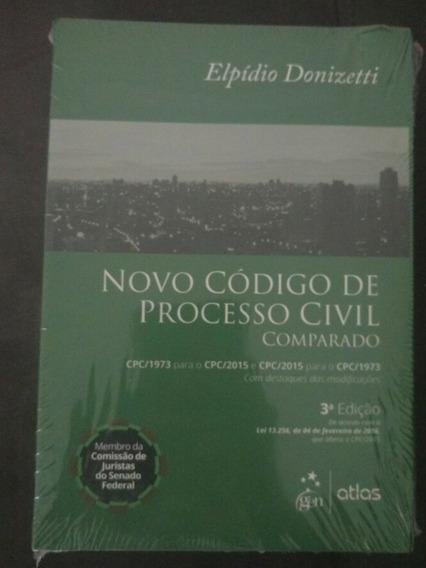 Novo Código De Processo Civil Comparado, Elpidio Donizetti
