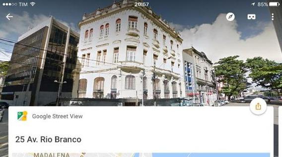 Apartamento Padrão No Predio Comercial Na Av Rio Branco - Al521-l