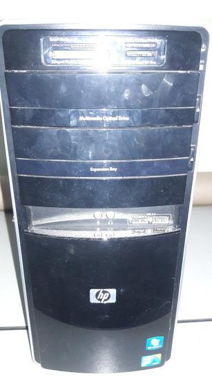 Desktop Hp + Placa Ms7525 Micro Atx - No Estado - Não Liga..