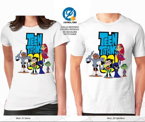 Playera Teen Titans Go Jovenes Titanes