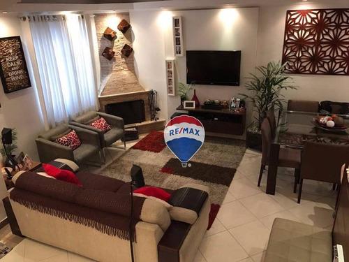 Casa Com 3 Dormitórios À Venda, 195 M² Por R$ 910.000,00 - Horto Florestal - São Paulo/sp - Ca0170