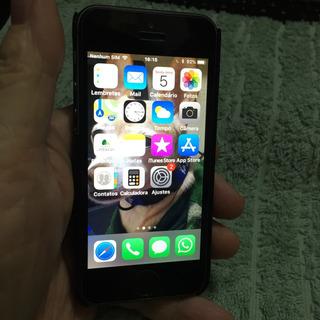 iPhone 5s 16 Gb Cinza Espacial.novissimo.com Caixa