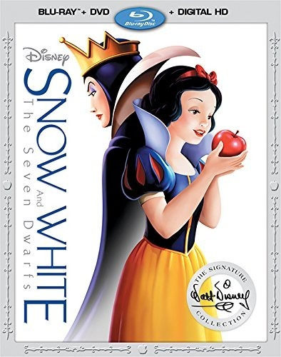 Blu-ray + Dvd Snow White / Blancanieves Y Los 7 Enanitos
