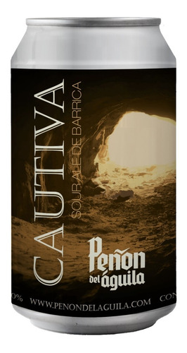Peñón Del Aguila Cautiva Sour Ale Six Pack - Lata X 354ml