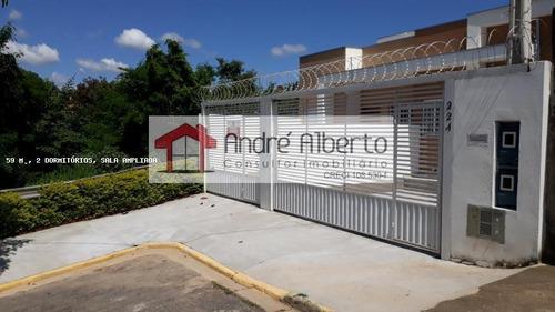Apartamento 2 Dormitórios Para Venda Em Sorocaba, Jardim Santa Marina, 2 Dormitórios, 1 Banheiro, 2 Vagas - 629_1-1353403